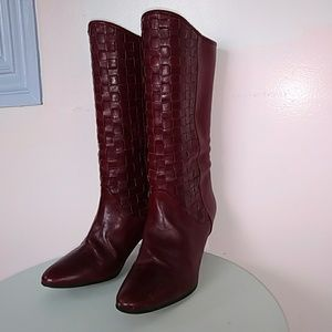 Vintage Leather Bally Boots